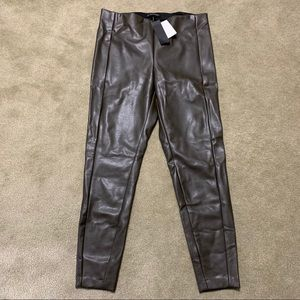 Women's Faux Leather Pants